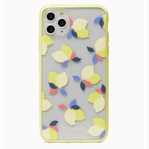 Kate Spade IPhone 11 Pro Max Lemons Clear Case